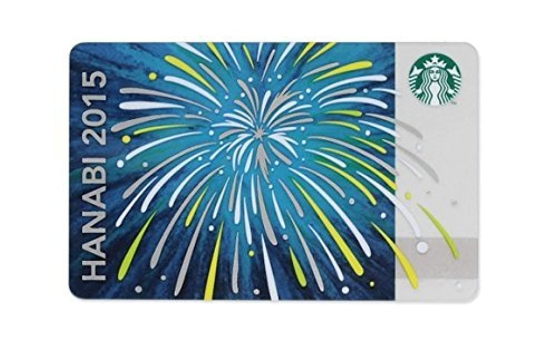スターバックスコーヒー STARBUCKS COFFEE 2015 夏 スターバックス カード 花火 HANABI