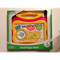Kid Connection Travel Magic Writer Yellow with Red 4 Pieces by Walmart [並行輸入品]