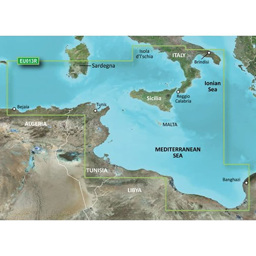 人気のレタスキャプチャーGarmin 010-C0771-20 Bluechart G2 - HXEU013R - Italy Southwest & Tunisia - Micro SD & SD