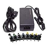 12V / 15V / 16V / 18V / 19V / 20V / 24V出力ユニバーサルAC DC電源 アダプタ充電器