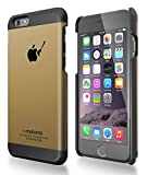 motomo 正規品 INO METAL CASE BR3 for iPhone 6 (iPhone6(4.7), ゴールドブラック)
