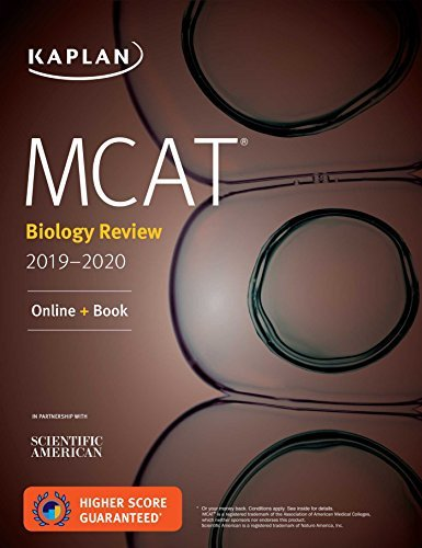 MCAT Biology Review 2019-2020: Online + Book (Kaplan Test Prep) (English Edition)