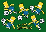 おもちゃ Fun Rugs SIM-017 5178 Simpsons シンプソンズ Soccer Fun Childrens Rug 51-Inch by 78-Inch [並行輸入品]