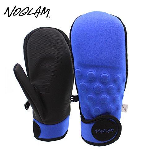 (ノーグラム)NOGLAM 2015年モデルnog-147 グローブ THE MIXX MITTEN/BLUE/BLACK 日本正規品 ミトン L
