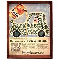 レイモン・サヴィニャック モービル 02 1960年代 ビンテージ 雑誌 広告 ポスター アートフレーム 額付