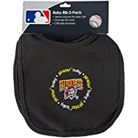 Baby Fanatic Team Color Bibs, Pittsburgh Pirates, 2-Count by Baby Fanatic