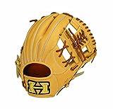 HI-GOLD(ハイゴールド) 軟式野球グラブ己極SERIES 二塁手・遊撃手用グローブ(内野/中) ナチュラル×タン 右投げ OKG-6516 ナチュラル