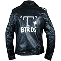 Flesh & Hide Men's Grease T Birds Danny Zuko John Travolta Jacket