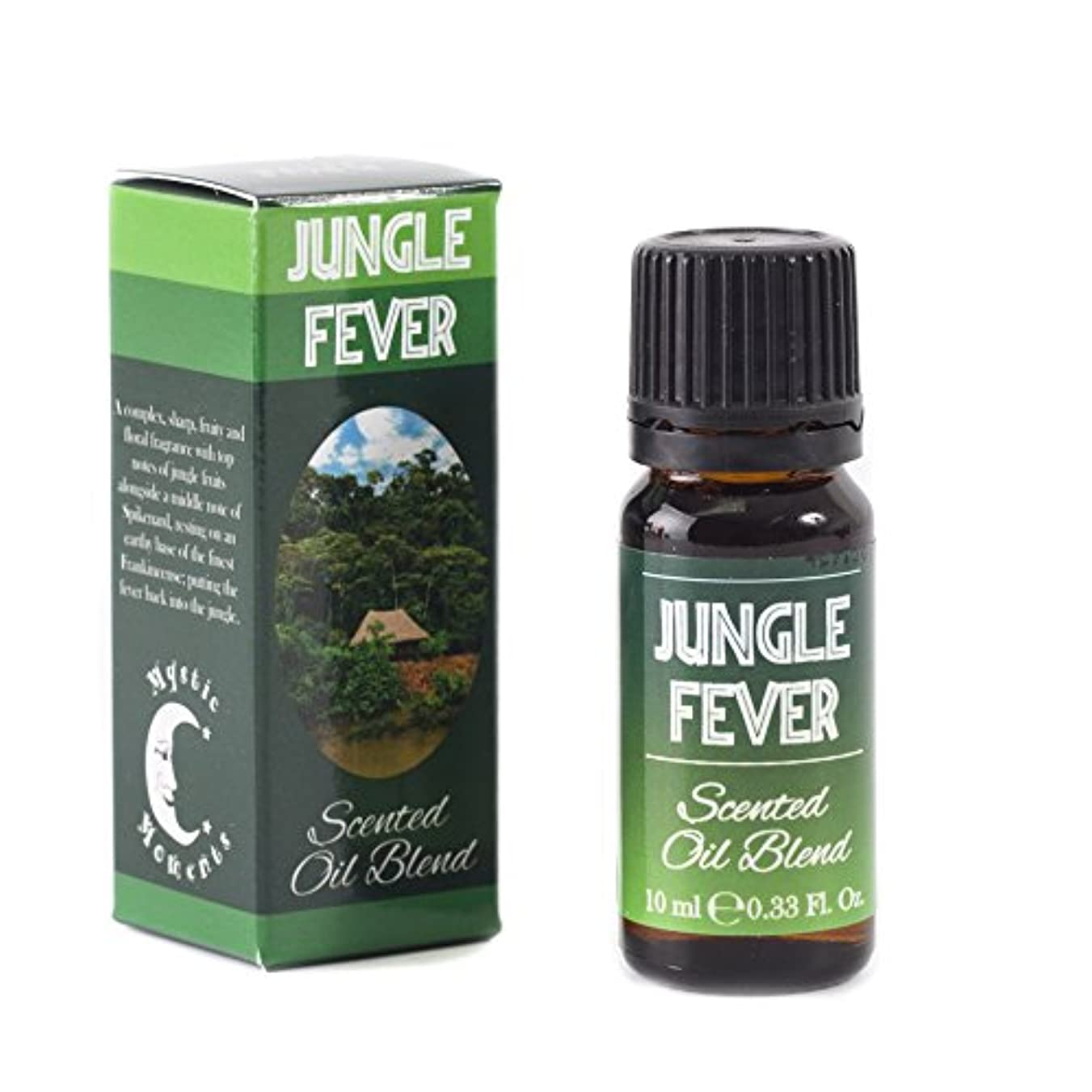 泣き叫ぶシャークきれいにMystic Moments | Jungle Fever - Scented Oil Blend - 10ml