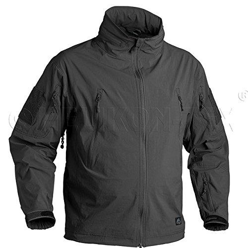(ヘリコンテックス)HELIKON-TEX TROOPER Soft Shell Jacket トゥルーパー ソフトシェルジャケット 【中田商店】(HT51/52/53/54) M BLACK(ブラック)