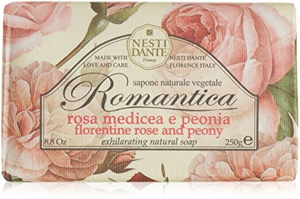 前置詞セメント自分のためにネスティダンテ ロマンティカソープ ローズ&ピオニー 250g