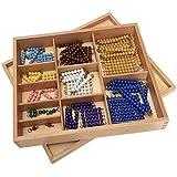 Elite Montessori Colored Bead Chains & Squares