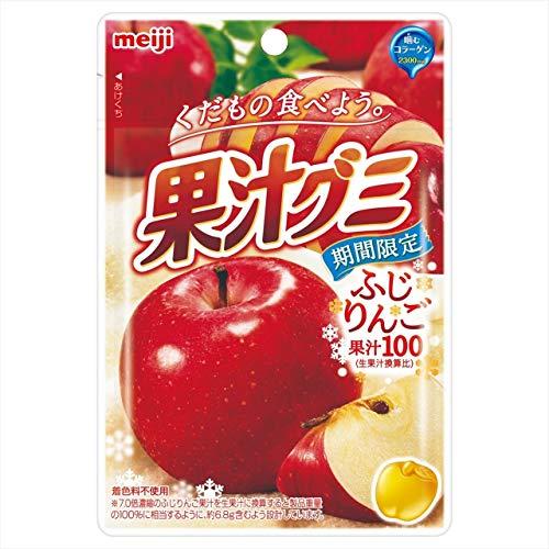 果汁グミ ふじりんご 10個