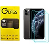 Screen Protector for iPhone 11 Pro/X/XS, Tongke [3 Pack] 9H Case Friendly Tempered Glass Screen Protectors Face ID Anti-Scrat