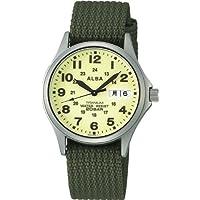 [セイコーウォッチ] 腕時計 アルバ ミリタリー APBT209 メンズ グリーン