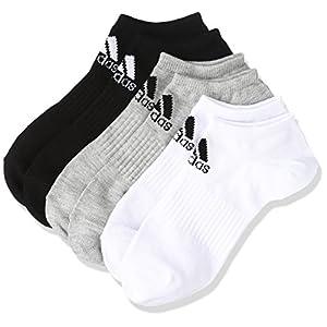(アディダス)adidas トレーニングウェア BASIC 3P アンクルソックス DMK57 [ユニセックス] BR6125 ミディアムグレイヘザー/ブラック 27-29cm
