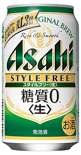 [2018年新発売]アサヒ スタイルフリー <生> 缶 350ml×24本