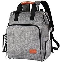 マザーズバッグ F40C4TMP マザーズリュック ママバッグ 大容量 オムツ替えシート 保温ポケット付き 防水 グレー