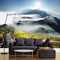 Ansyny カスタム写真現代壁紙壁画3D山自然風景写真アート壁画リビングルームの寝室の壁の装飾-330X210CM