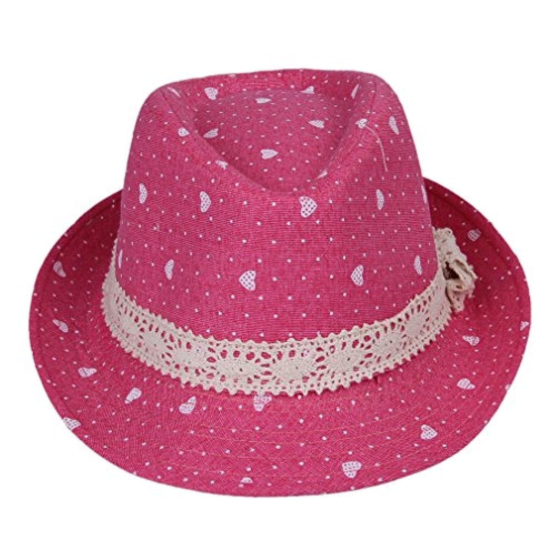 pekabo ベビー ハット 女の子 子供 帽子 新生児 カーブキャップ 帽子 男女兼用