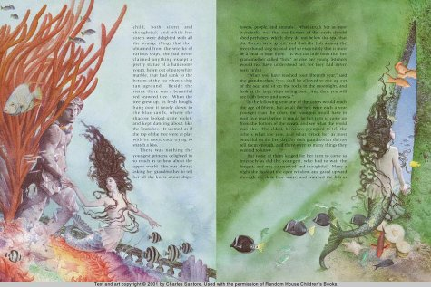 The Little Mermaid: (Reissue) (Charles Santors)