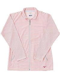 [ミズノ] メンズ ジャケット フルジップ ピンク B2JC630164 L