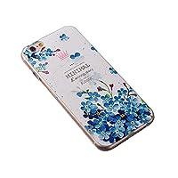 iPhone 7 plus ケース/iPhone 8 plus ケース,【MCG&ニコニコにゃん】おしゃれ ソフト TPU シリコン ケース[ 超軽量 衝撃吸収 落下防止 保護 ] iPhone 7 plus/iphone 8 plusケース5.5インチスマホカバー(パターン-1)