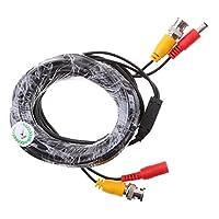 IPOTCH  耐久性  防犯カメラ用 ビデオケーブル 電源ケーブル 全2サイズ選ぶ  - 5m