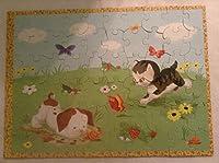 Little Golden Books 60 Piece Puzzle - The Poky Little Puppy & The Shy Kitten