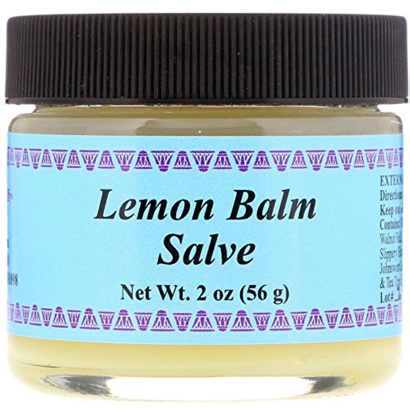 欠伸嫉妬割り当てWiseWays Herbals: Salves for Natural Skin Care, Lemon Balm Cream 2 oz by Lotus Light [並行輸入品]