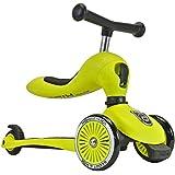Scoot & Ride Highwaykick 3 Lime Balance Bike & Scooter