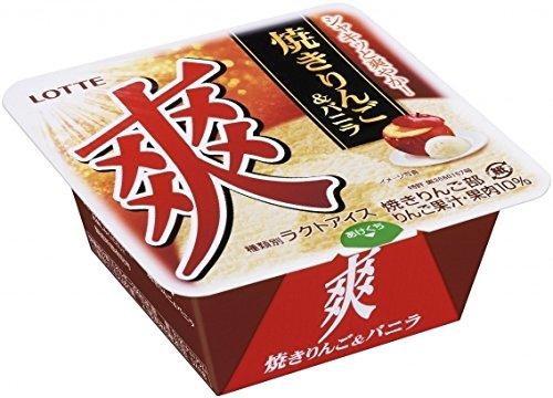 ロッテ 爽 焼きりんご&バニラ 190ml ×18個