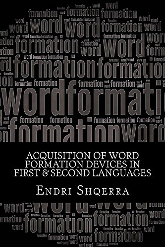 Acquisition of Word Formation Devices in First & Second Languages: Morphological Cross-linguistic Influence (English Edition)