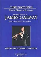 BOULANGER/CHOPIN/FIELD - Nocturnos (3) para Flauta y Piano (Galway/Moll)