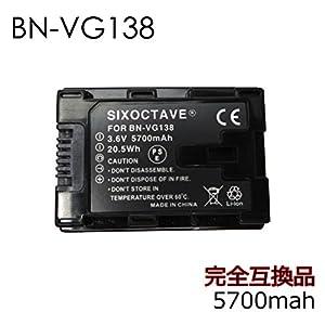 str BN-VG138 BN-VG129 互換 バッテリー & USB 充電器 AA-VG1 セット Jvc 日本ビクター GZ-HD620 GZ-HM450 GZ-HM570 GZ-HM670 GZ-HM690 GZ-HM880 GZ-HM890 GZ-HM990 GZ-G5 GZ-E280 GZ-E320 GV-LS1 GV-LS2 GZ-E180 GZ-HM390 GZ-HM33 等