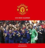 Manchester United F.C. Official Desk Easel 2018 Calendar - Month To View Desk Format (Desk Easel Calendar 2018)