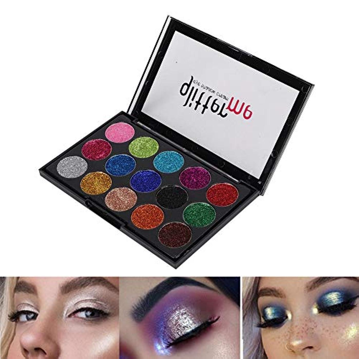 アイシャドウパレット アイシャドウパレット 15色 化粧マット グロス アイシャドウパウダー 化粧品ツール