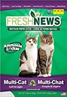 Fresh News Paper Cat Litter Multi-Cat Litter Gray 14 lb [並行輸入品]