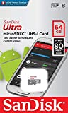 microSDXC 64GB SanDisk Ultra UHS-1 CLASS10 SDアダプタ付き [並行輸入品]