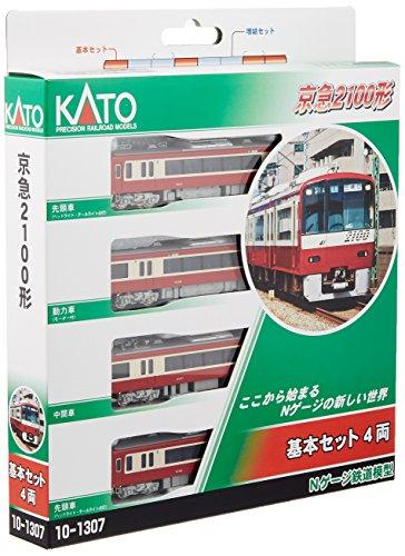 KATO Nゲージ 京浜急行 2100形 基本 4両セット 10-1307 鉄道模型 電車