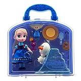 Disney ディズニー Animators' Collection アニメーター アナと雪の女王 エルサ ミニドール プレイセット 【並行輸入品】