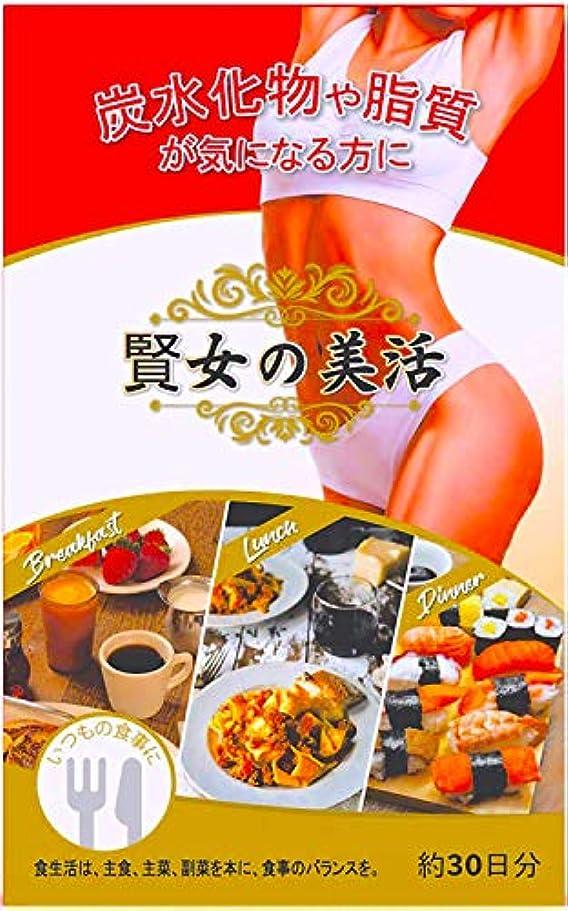 騒乱悪魔ペナルティ【賢女の美活】 ダイエットサプリ カット系 サラシア ギミネマ 厳選素材 30日分
