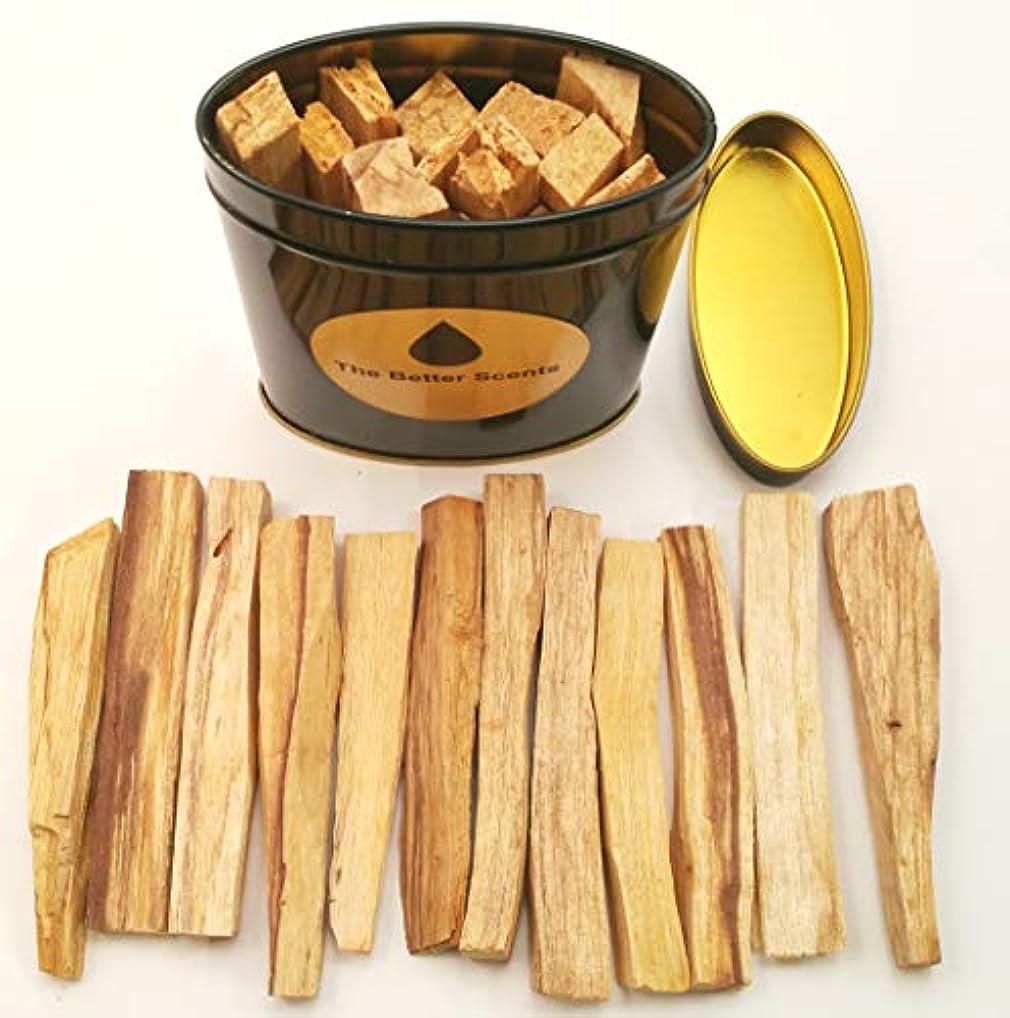 熱帯のジムスプレーPalo Santo Sticks ギフトボックス - オーガニックな野生収穫 本物の100%天然無成型パロサント スマッジスティック
