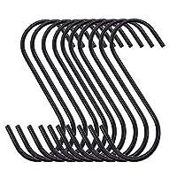 S字型フック 高耐久 キッチン/浴室/寝室/オフィス用S型フック 30個パック
