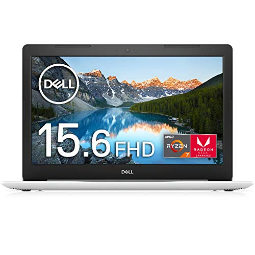 Dell ノートパソコン Inspiron 5575 Ryzen 7 ホワイト 19Q33W/Windows 10/15.6 FHD/16GB/512GB SSD