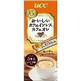 UCC おいしいカフェインレス カフェオレ スティックコーヒー (7P×6袋) 42杯