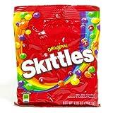 Skittles スキットルズ オリジナル フルーツキャンディー 大袋 204.1g×4袋セット