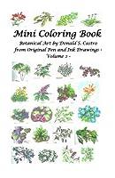Mini Botanical Art: From Original Pen & Ink Drawings