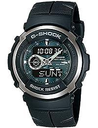 [カシオ]CASIO G-SHOCK Gショック G-SPIKE Gスパイク ブラック アナデジ腕時計 メンズ G-300-3A [並行輸入品]
