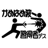 【tv-04-2】かめはめ波習得者デス【ドラゴンボールパロディー】黒